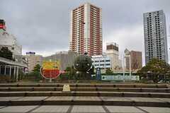 各線・浜松駅前の様子3。家康くんがいます。(2016-01-20,共用部,ENVIRONMENT,1F)