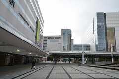 各線・浜松駅前の様子4。(2016-01-20,共用部,ENVIRONMENT,1F)
