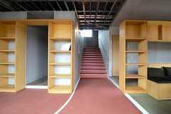 1Fの階段前の様子。(2016-02-29,共用部,OTHER,1F)
