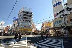 各線・三島駅前の様子2。(2016-02-03,共用部,ENVIRONMENT,1F)