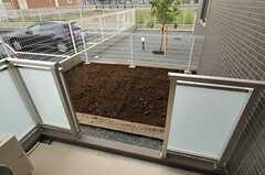 1Fの専有部は菜園付きです。(112号室)(2014-03-27,専有部,ROOM,1F)