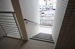 外階段の様子。(2014-03-27,共用部,OTHER,3F)