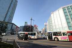 各線・静岡駅前の様子2。(2015-12-09,共用部,ENVIRONMENT,1F)