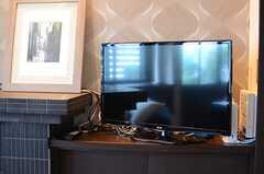 共用TVの様子。(2014-06-09,共用部,TV,1F)
