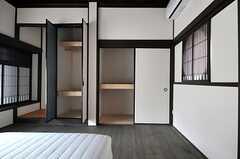 収納の様子。(202号室)(2014-06-09,専有部,ROOM,2F)