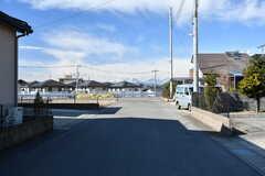 家の前からは男体山が綺麗に見えます。(2020-02-10,共用部,ENVIRONMENT,1F)