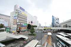各線・宇都宮駅前の様子。(2013-09-02,共用部,ENVIRONMENT,3F)