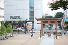 お寺の向かいはパルコです。(2013-09-02,共用部,ENVIRONMENT,1F)