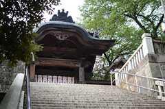 シェアハウスの近くにあるお寺の様子。(2013-09-02,共用部,ENVIRONMENT,1F)