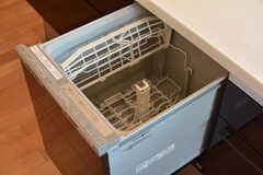 食器洗浄機も使えます。(2019-11-29,共用部,KITCHEN,1F)