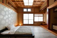 専有部の様子。和テイストの部屋です。モデルルームです。(102号室)(2019-11-29,専有部,ROOM,1F)