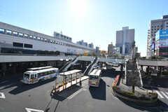各線・宇都宮駅前の様子2。(2019-11-29,共用部,ENVIRONMENT,1F)