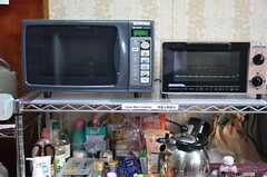 キッチン家電の様子2。(2014-11-09,共用部,KITCHEN,1F)