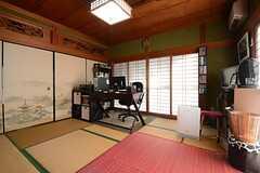 専有部の様子2。※家具は入居者さんの私物です(101号室)(2014-11-09,専有部,ROOM,1F)