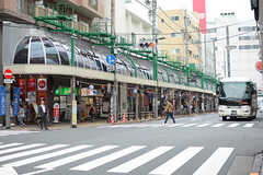 各線・北千住駅から続くアーケード商店街。(2017-09-06,共用部,ENVIRONMENT,1F)