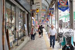各線・北千住駅から続くアーケード商店街2。(2017-09-06,共用部,ENVIRONMENT,1F)