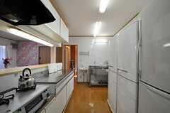 キッチンの様子3。(2012-10-10,共用部,KITCHEN,1F)