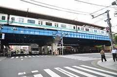 各線・綾瀬駅の様子。(2012-10-10,共用部,ENVIRONMENT,1F)