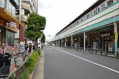 各線・綾瀬駅前の様子。(2012-10-10,共用部,ENVIRONMENT,1F)