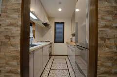 キッチンの様子。(2015-02-24,共用部,KITCHEN,2F)