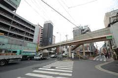東武大師線・大師前駅前の様子。(2015-02-24,共用部,ENVIRONMENT,1F)