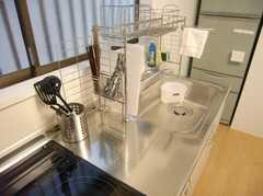 シェアハウスのキッチンの様子2。(2008-02-15,共用部,KITCHEN,1F)