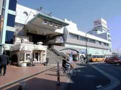 東武伊勢崎線西新井駅の様子。(2008-02-15,共用部,ENVIRONMENT,1F)