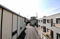窓からの景色。(202号室)(2012-06-08,専有部,ROOM,2F)