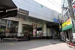 東武伊勢崎線・梅島駅の様子。(2012-06-08,共用部,ENVIRONMENT,1F)