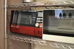キッチン家電の様子。(2012-12-21,共用部,KITCHEN,1F)