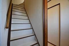 階段の様子。(2016-12-12,共用部,OTHER,2F)