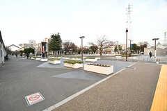 駅前の公園。(2016-12-12,共用部,ENVIRONMENT,1F)