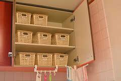 専有部ごとに食材を収納できるボックス。(2016-08-23,共用部,KITCHEN,1F)