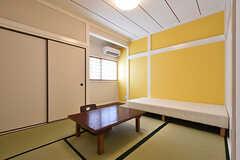 専有部の様子。和室です。(205号室)(2016-08-23,専有部,ROOM,2F)