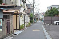 周辺は静かな住宅街です。(2016-08-23,共用部,ENVIRONMENT,1F)