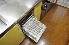 食洗機もあります。(2013-03-27,共用部,KITCHEN,1F)