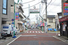 駅に向かう途中にある商店街。(2016-02-29,共用部,ENVIRONMENT,1F)