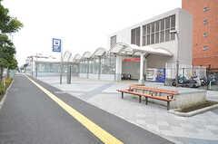 つくばエクスプレス・青井駅の様子。(2016-02-29,共用部,ENVIRONMENT,1F)
