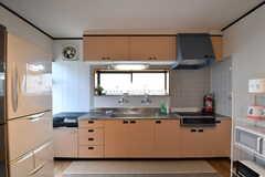 キッチンの様子。(2017-05-18,共用部,KITCHEN,1F)