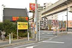 日暮里舎人ライナー・扇大橋駅周辺の様子。(2016-11-17,共用部,ENVIRONMENT,1F)