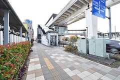 日暮里舎人ライナー・扇大橋駅の様子。(2016-11-17,共用部,ENVIRONMENT,1F)