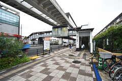 日暮里舎人ライナー・西新井大師西駅の様子。(2016-07-15,共用部,ENVIRONMENT,1F)