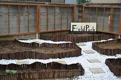 庭にはだんだん畑。(2015-03-12,共用部,OTHER,1F)