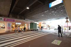 東武スカイツリーライン・五反野駅の様子。(2015-03-12,共用部,ENVIRONMENT,1F)