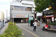各線・西新井駅の様子。(2017-11-29,共用部,ENVIRONMENT,1F)