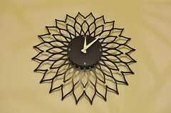 花びら模様の時計。(2012-05-04,共用部,OTHER,1F)
