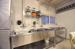 キッチンの様子。(2012-05-04,共用部,KITCHEN,1F)