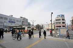 各線・亀有駅の様子。(2012-03-30,共用部,ENVIRONMENT,1F)