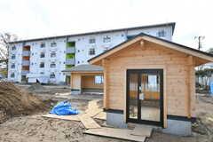 共用の小屋。小屋は2棟あります。(2019-12-01,共用部,OTHER,1F)