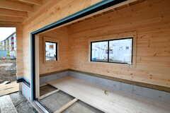 共用の小屋の様子。2020年2月のOPENに向けて工事中。DIYの作業場として機能する他、アウトドア道具などを保管できるようになる予定。(2019-12-01,共用部,OTHER,1F)